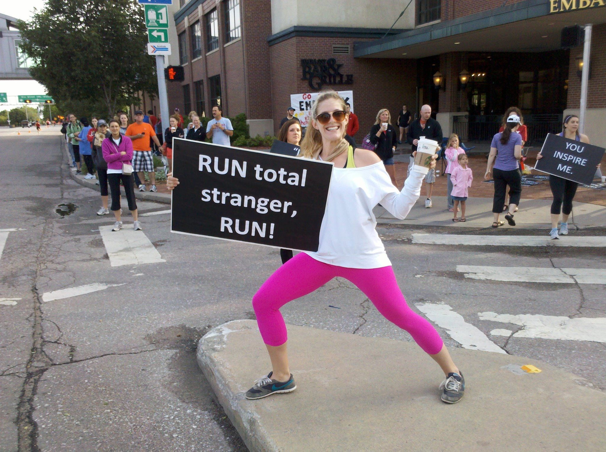 Best Funny Marathon Signs Ideas On Pinterest Running Signs - Seeing 23 hilarious street posters will make day