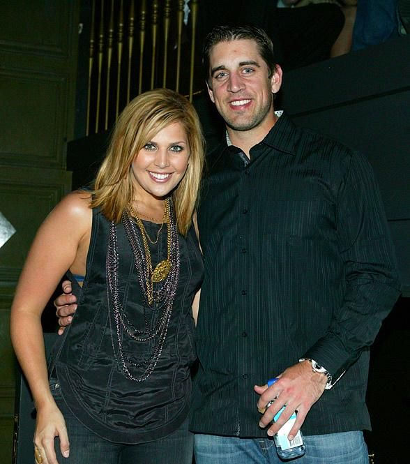 Aaron Rodgers with Hillary Scott from Lady Antebellum! -E