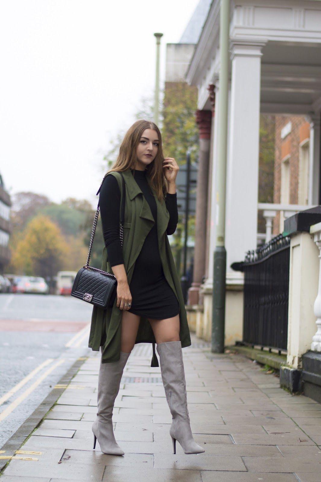 Layla Panam: Khaki / Chanel Bag