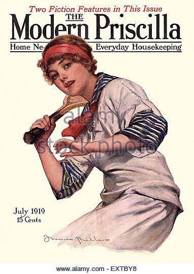Modern Priscilla 1916-04   Magazine cover, Vintage