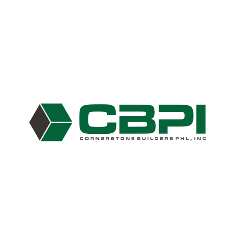 Cornerstone Builders Phl Inc Or Cbpi Construction Firm Needing A Corporate Logo We Construct Commercial Construction Logo Corporate Logo How To Make Logo