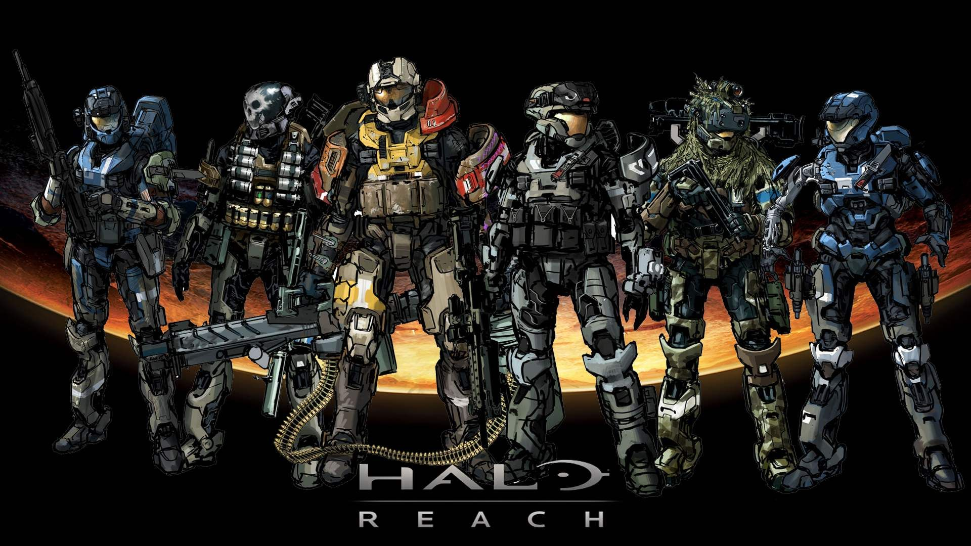 Halo Reach Wallpapers In Hd Halo Reach Halo Armor Halo Combat Evolved