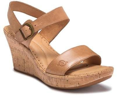 21c3a4c34f0 Born Boulder Leather Cork Wedge (Women)  fashion  style  shopping  shoes