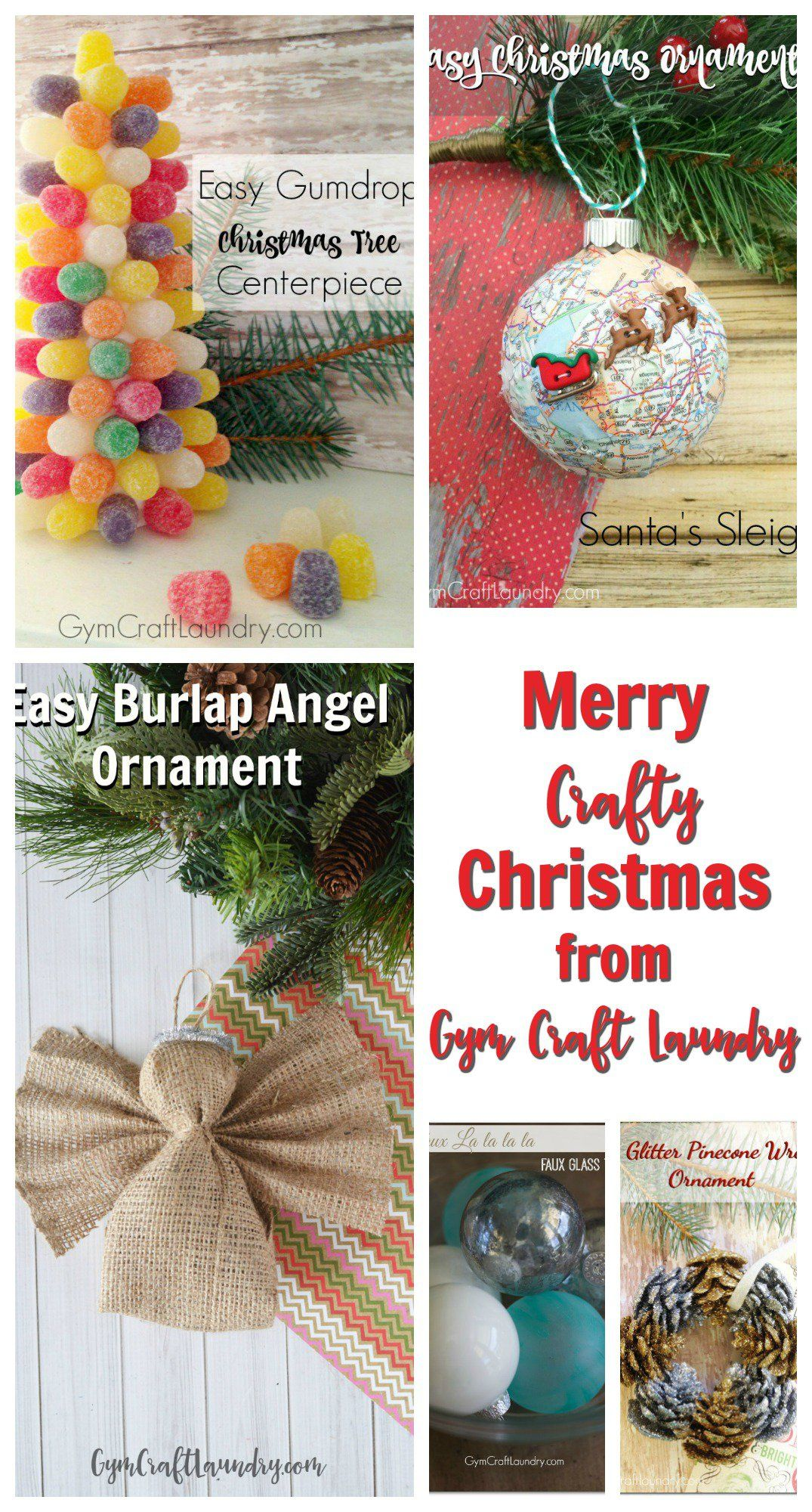 Easy Homemade Christmas Crafts | Best of Gym Craft Laundry | Pinterest