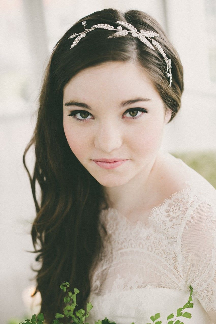 Beautiful Botanical Wedding Ideas Bridal makeup for