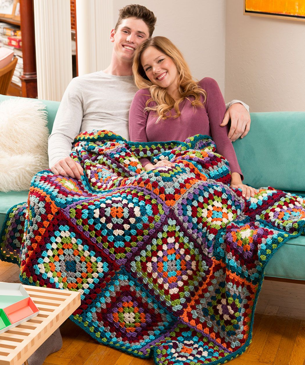 Its Fun To Crochet This Classic With New Yarns And An Array Of