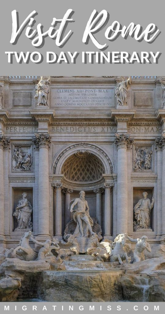 Photo of The Roman Conquest: What to Do in Rome in 2 Days – Migrating Miss