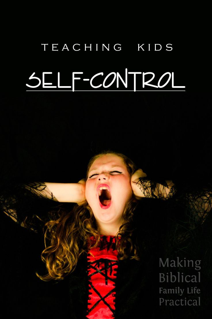 Teaching Kids Self-Control - MBFLP 207 | Homeschooling for ...
