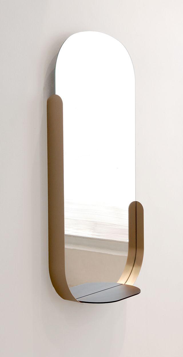 Modern dressing table mirrors les  tendances deco de la rentree  shelves interiors and mirror