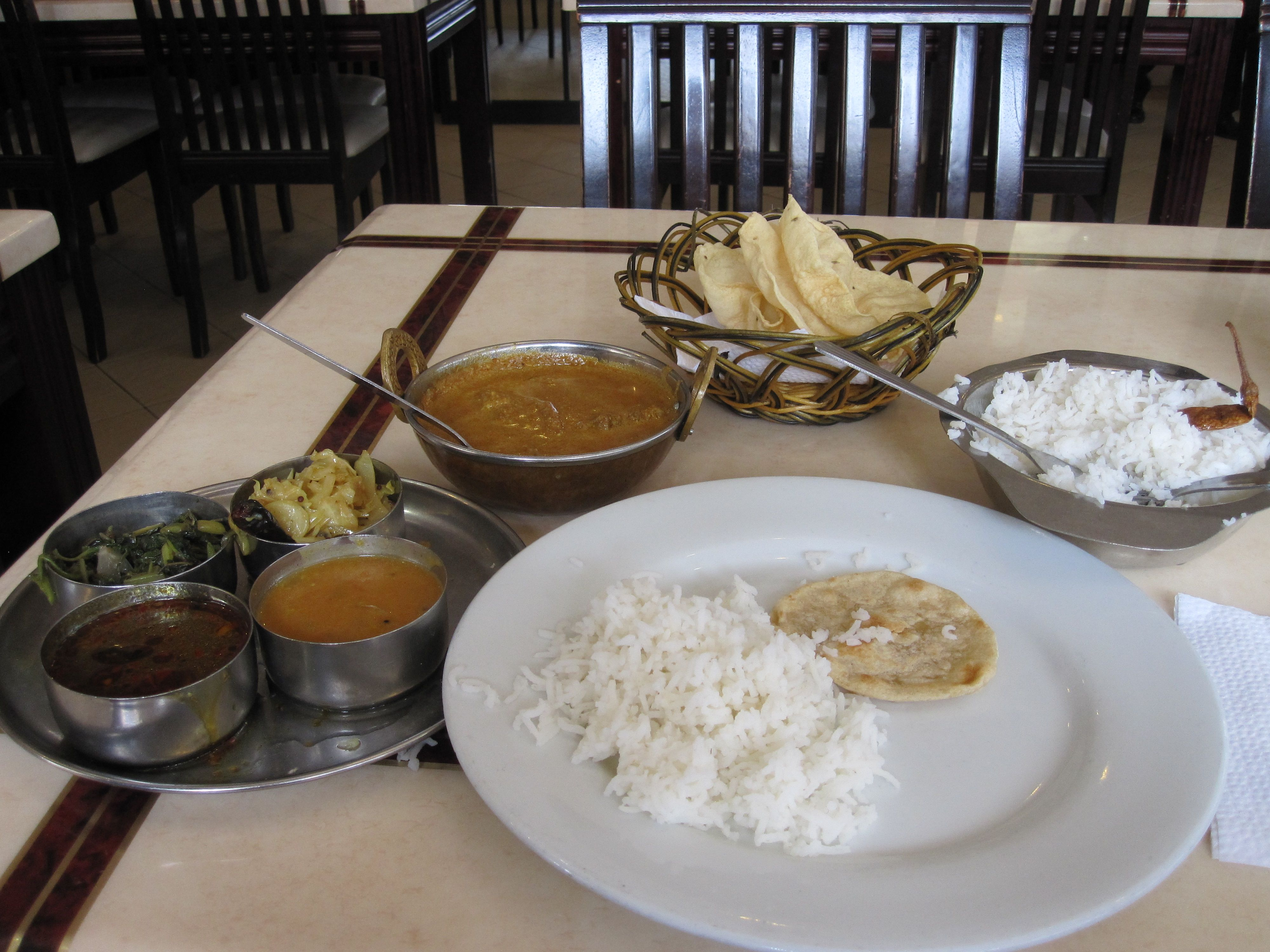 Indian Muslim Food At The Little India In Kuala Lumpur Food Foodie Eat