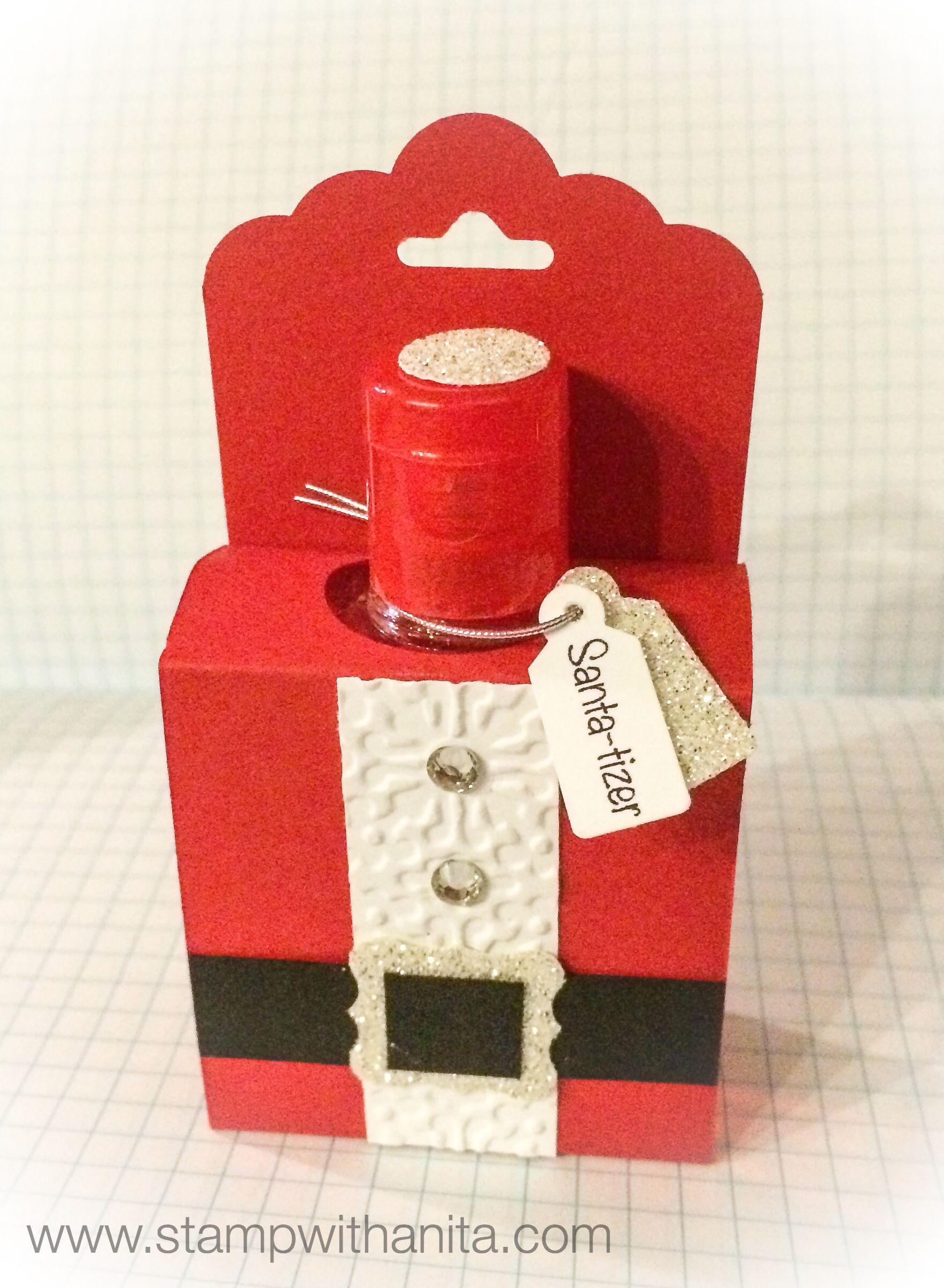 Santa Tizer1 Www Stampwithanita Com Gifts Christmas Treats