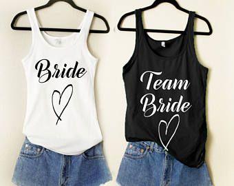Team bride  Etsy DE  Karini JGA in 2018  Pinterest