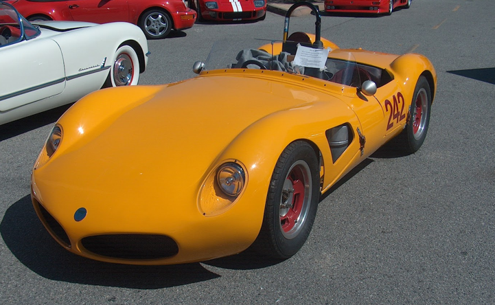 1960s Elva/Climax MKII Sebring Racer