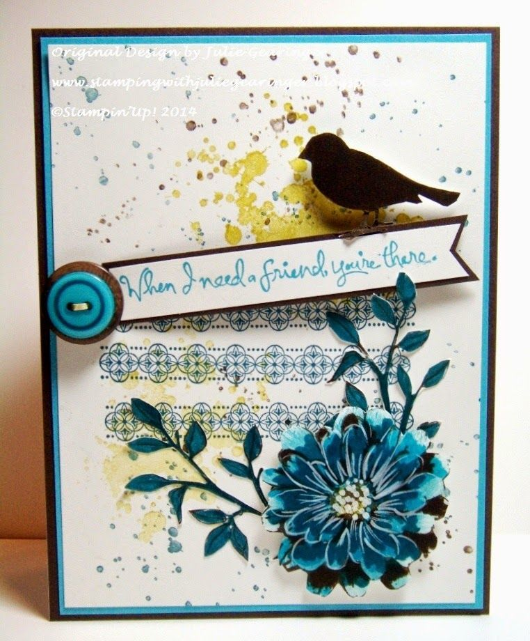 Stamping with Julie Gearinger: Choose Happiness