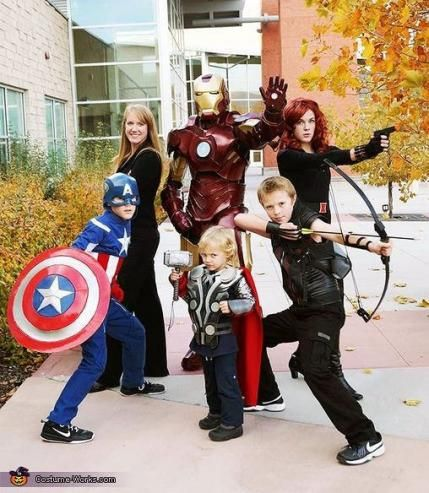 family halloween costumes ideas for the whole family - Heroes Halloween Costumes