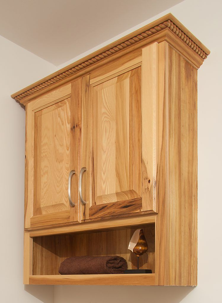 Oak Bathroom Over The Toilet Cabinets Cabinet Above Toilet