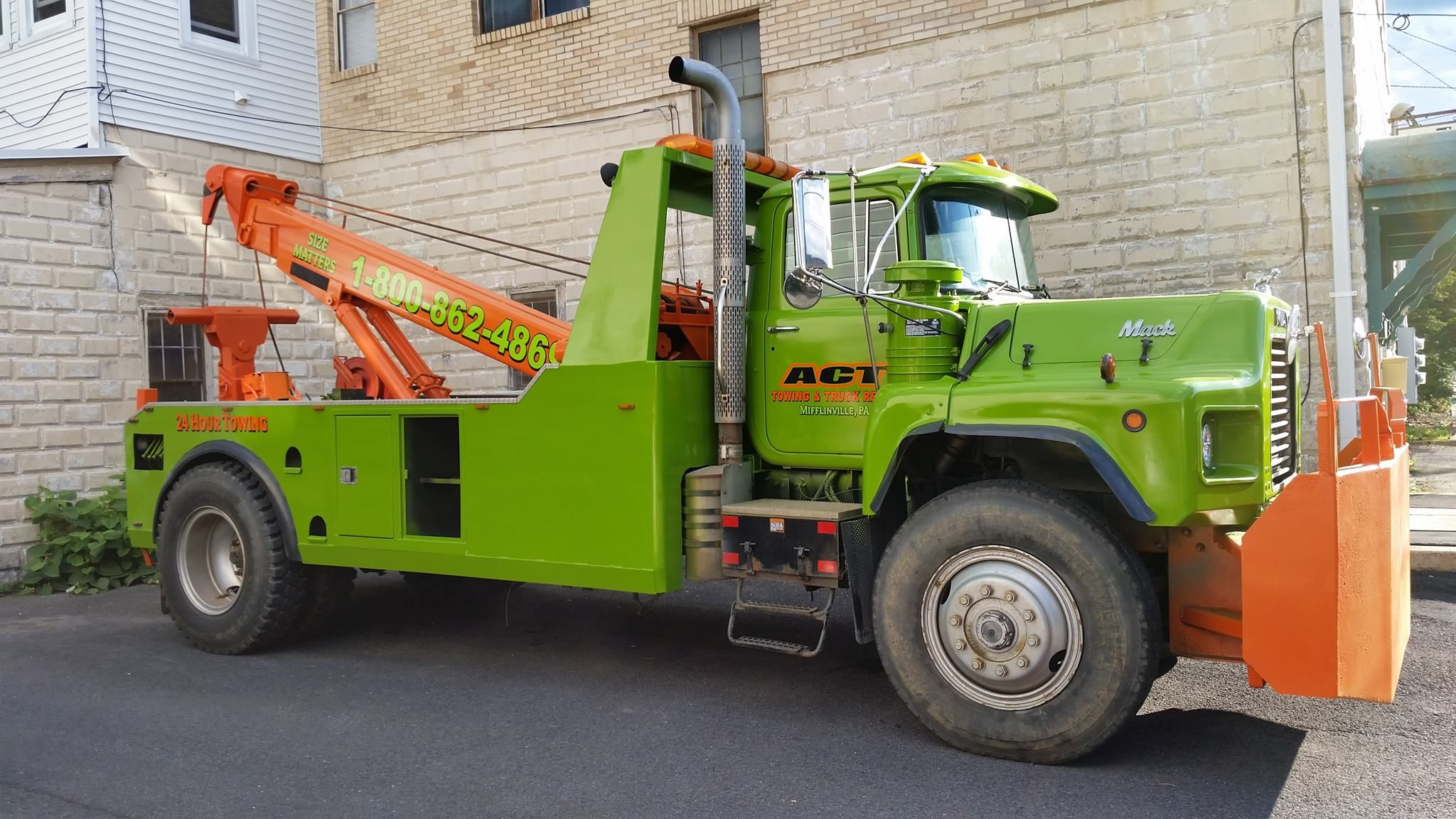 Act towing mifflinville pa