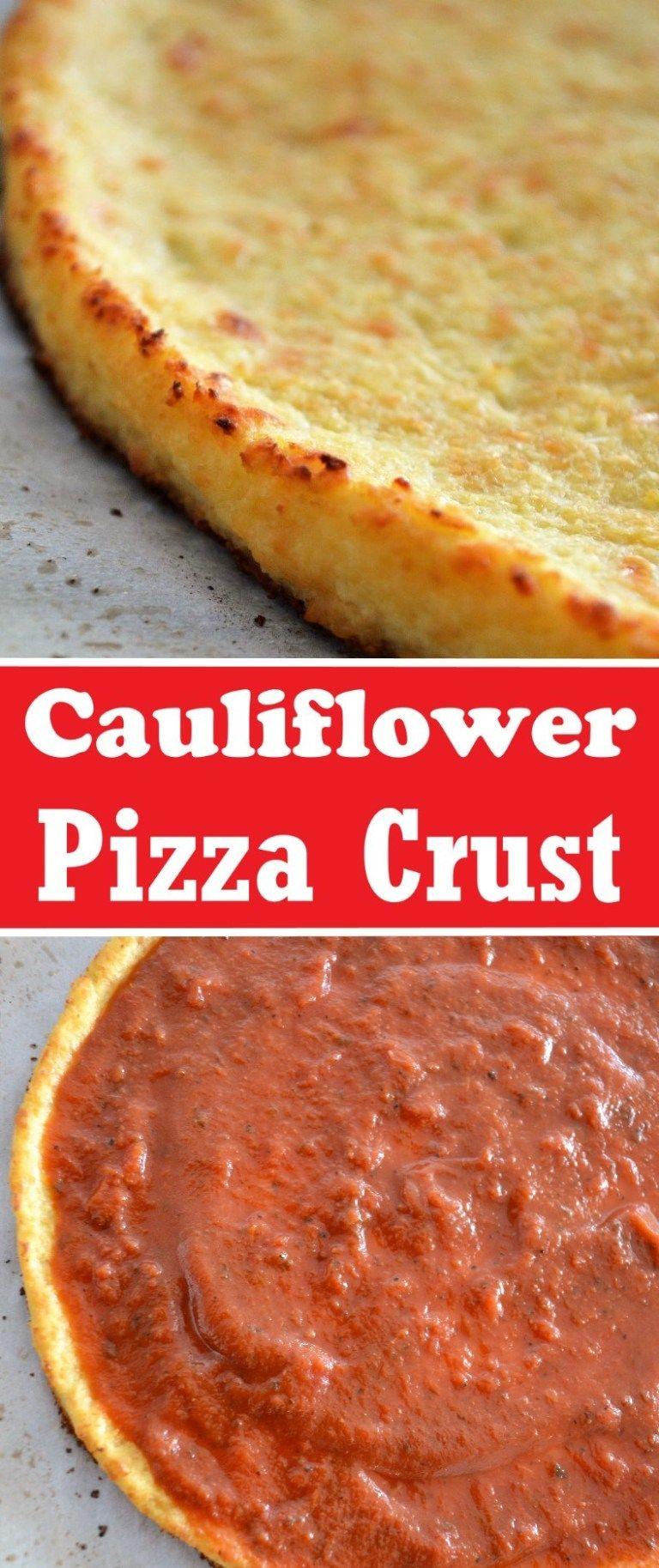 Photo of Cauliflower Pizza Crust Recipe – Sum of Yum