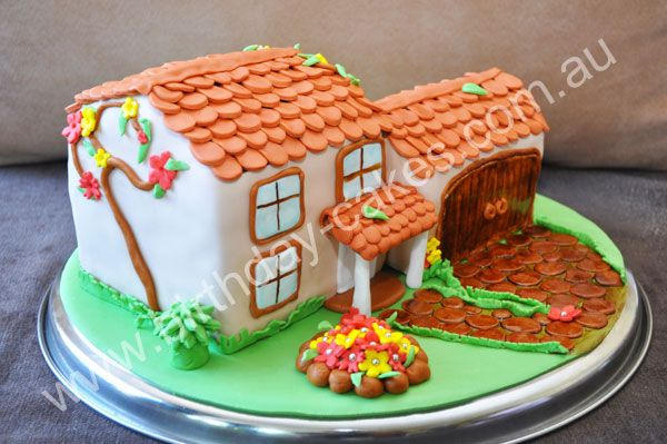 Novelty Cakes And Special House Would Make A Very Sweet Extravagant Cake