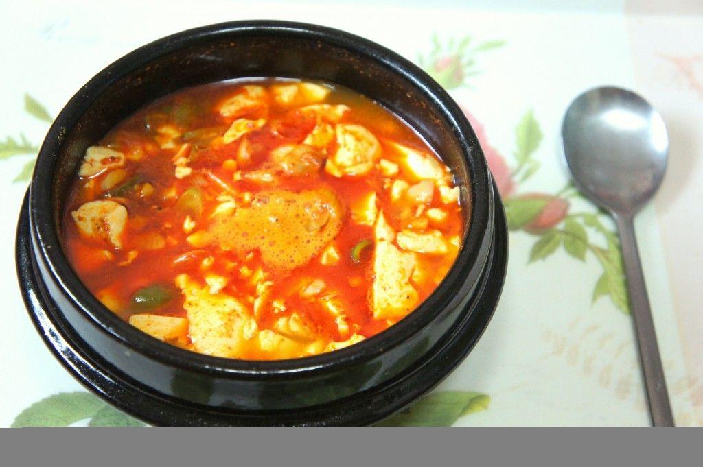 Sundubu Jjidae (Soft Tofu Stew) by @Waegook_Tom - it's what's for breakfast in Korea! #hgeats