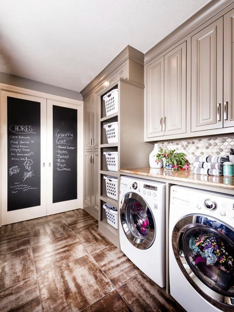 Laundry Room Linen Cabinets