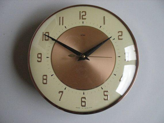 Metamec Electric Wall Clock Clock Wall Clock Interesting Things