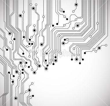Circuit board abstract background Royalty Free Stock Vector Art Illustration