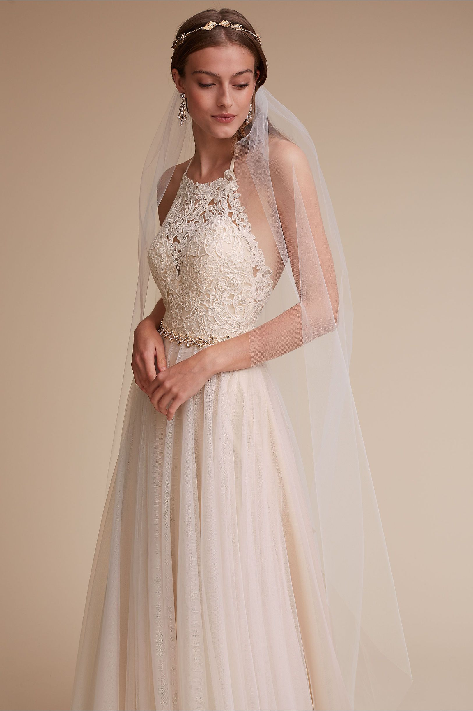 Bhldn josie gown in bride wedding dresses back detail bhldn