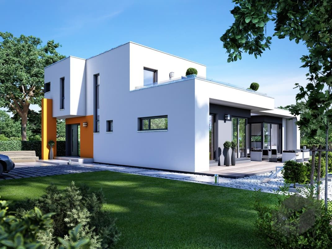 Fertighaus bungalow modern  Casaretto von Büdenbender Hausbau. Mehr Infos einholen auf der ...