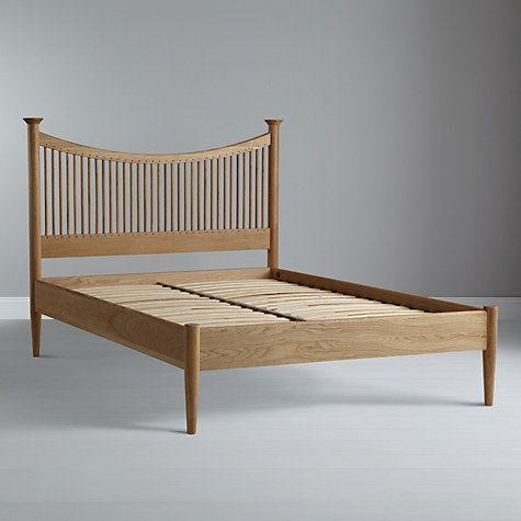 buy john lewis essence low end bed frame oak super king size online at - Low King Size Bed Frame