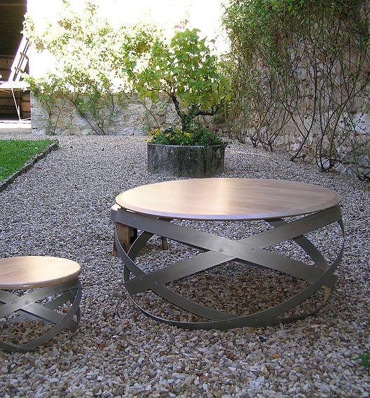 réalisation de tables chaise de bar tabouret haut meubles