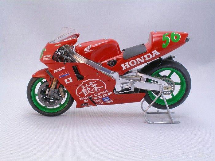 Norifumi Abe's Mr Donut Honda, custom 1/12 scale model wow