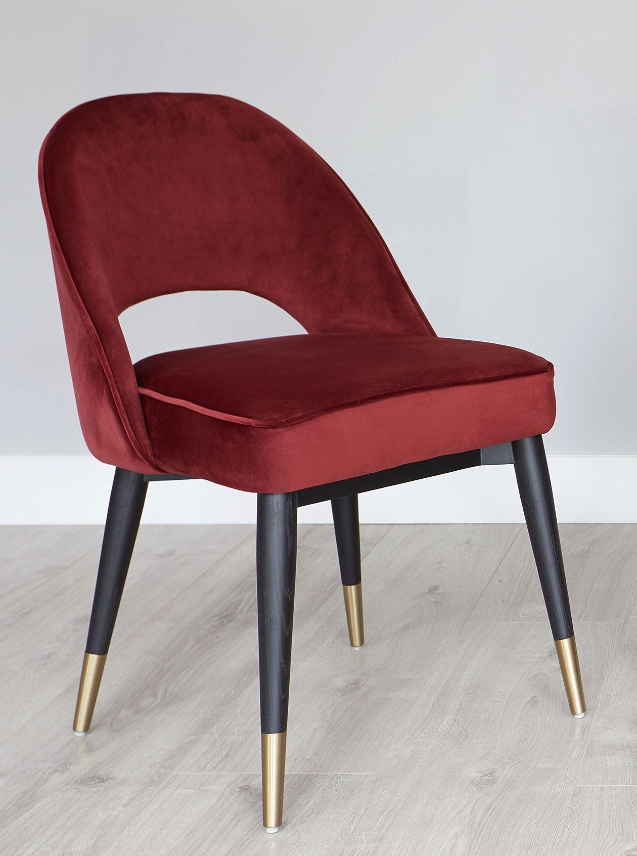 Amazing Clover Sapphire Blue Velvet Dining Chair Danetti Jewel Uwap Interior Chair Design Uwaporg