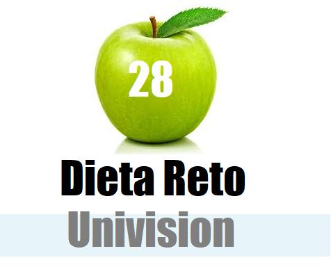 Univision recetas para bajar de peso