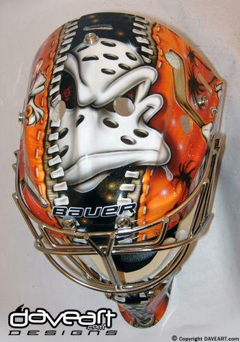 Anaheim Ducks Goalie Mask  fac139d58
