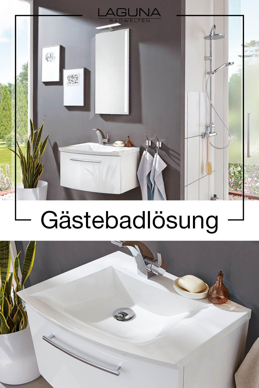Badmobel Badezimmer Badinspiration Bathroom Furniture Bathroom Gastebader Sind Das Aushangeschild In 2020 Kleine Badezimmer Bad Inspiration Moderne Badmobel