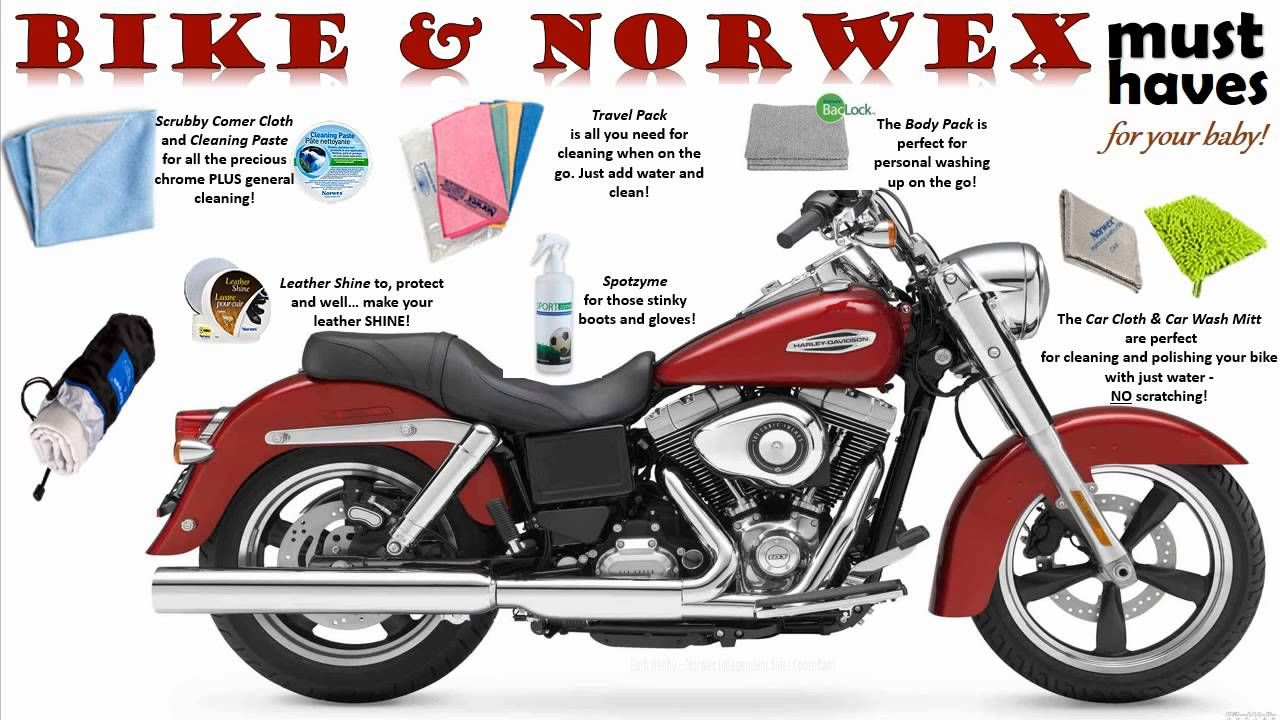 Cleaning motorcycle cleaning hacks