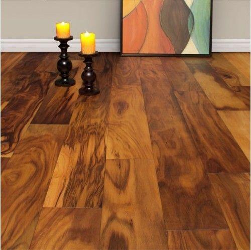 Dream Floors Tiger Wood Effect Wide Plank Engineered Smooth Natural Acacia Hardwood Flooring Engineered Wood Floors Hardwood Floors Acacia Wood Flooring