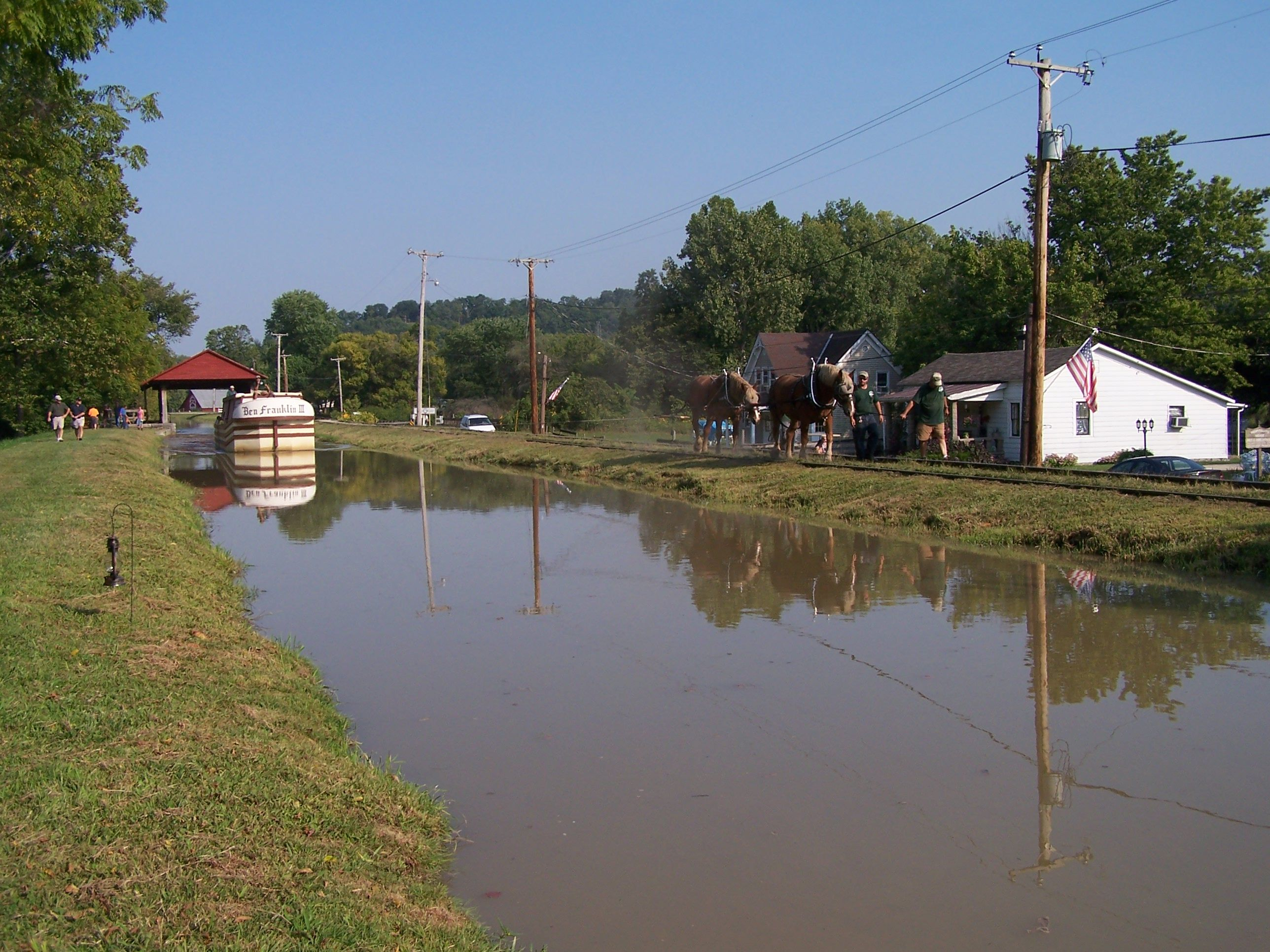 The Canal at Metamora, Indiana   Metamora indiana, Favorite places