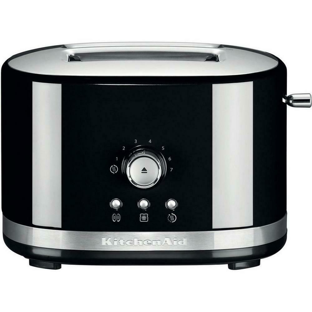 Kitchenaid 5kmt2116bob 2 slice toaster with lift lever 220