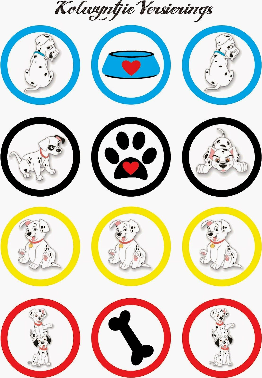 photo relating to Dalmation Printable known as 101 Dalmatians Free of charge Printable Mini Package. Clroom