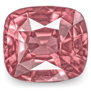 1.35-Carat Unheated VVS-Clarity Cushion Intense Pink Sapphire