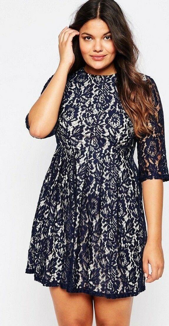 Kleid Gr 44 46 48 50 52 54 Spitzenkleid Spitze Abendkleid Blau Damen Festlich Festliche Kleider Ideas Of Festliche Kleider In 2020 Spitzenkleid Kleider Abendkleid