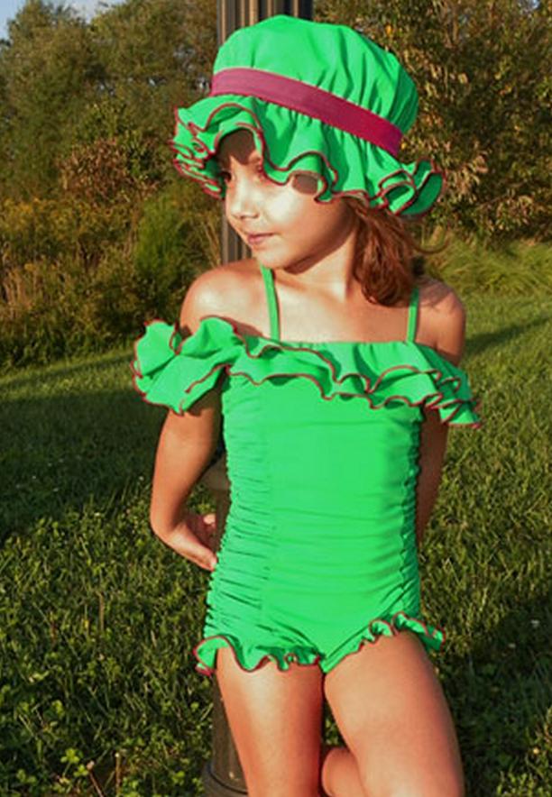 049383b39cb3d Chichanella Bella Swim Wear Vintage inspired little girls swimwear! @  www.lustella.com