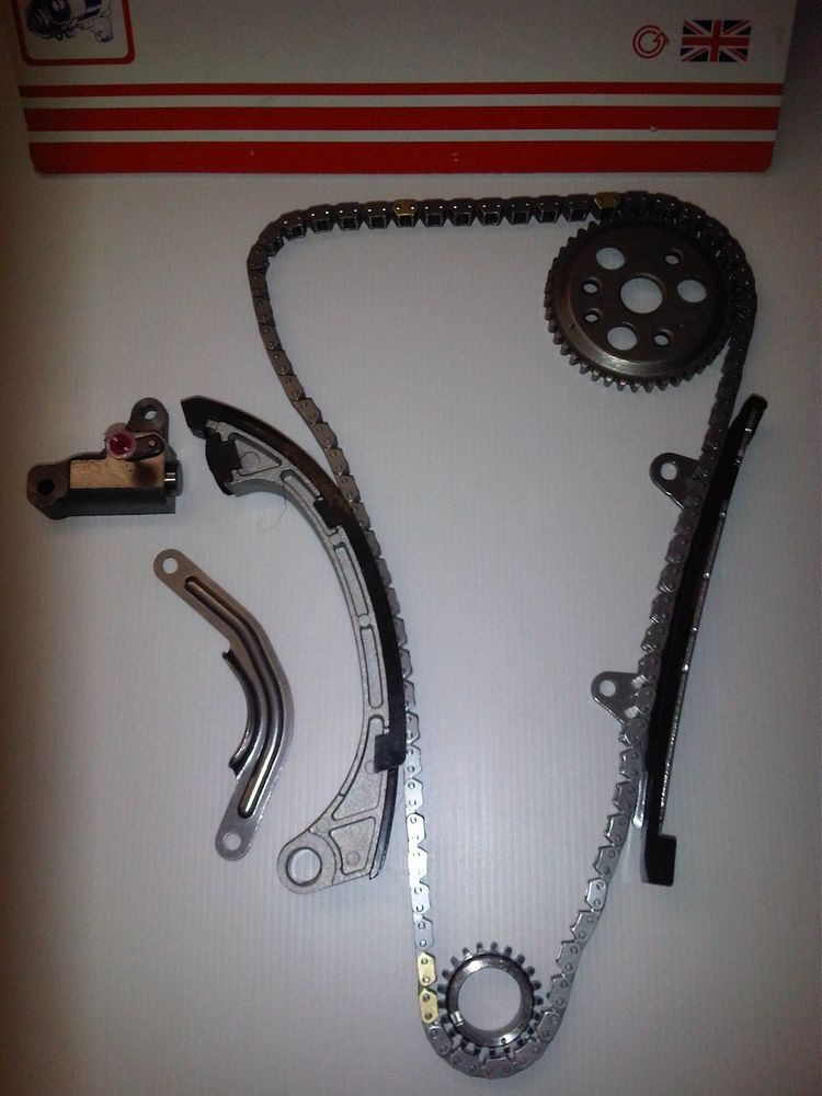 KIT CONTAINS 2X CHAIN GUIDES,CHAIN TENSIONER,1X CAM SPROCKET ,1X