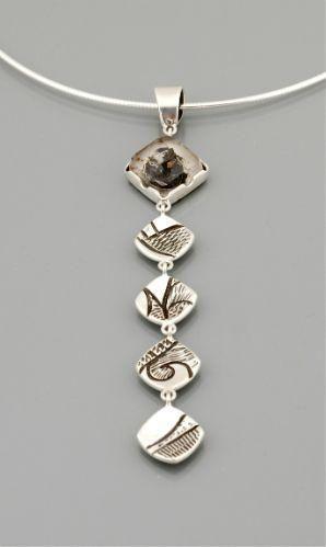 Necklace Jared Chavez Pendant of Hematite Jewelry Pinterest