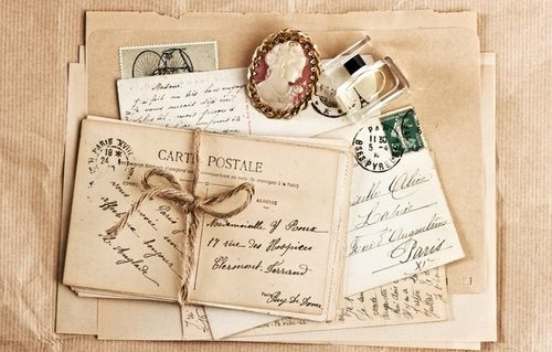 Image result for romantic vintage love letters