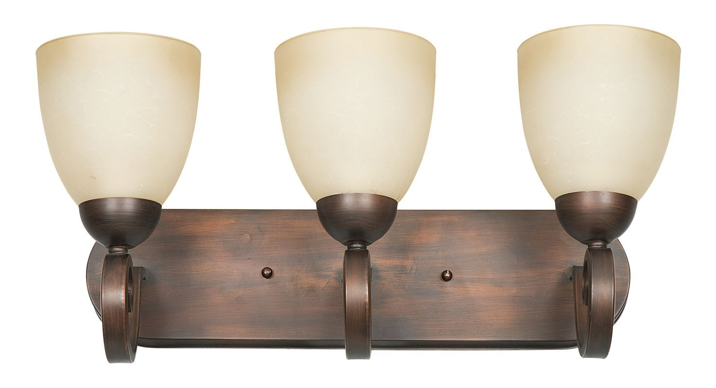 Sunset Lighting F5273 Provano 3 Light 300 Watt Bathroom Vanity Light ...