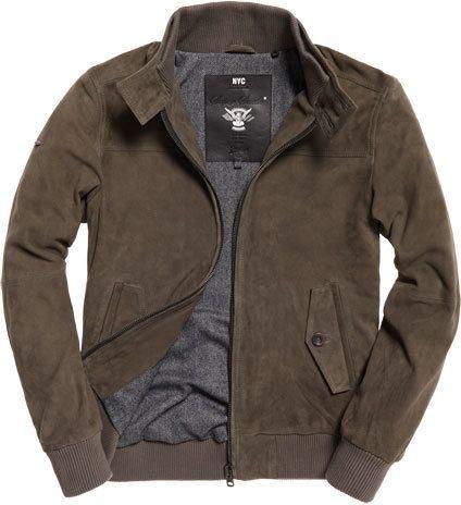 55f0a2041 Suede Harrington | Tops in 2019 | Harrington jacket, Jackets, Men's ...