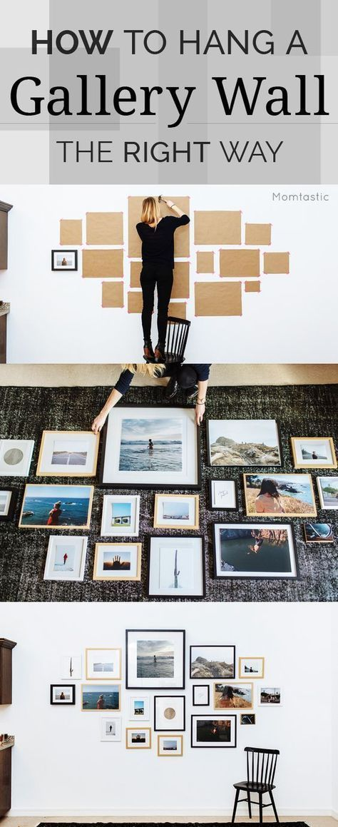 How to hang  gallery wall more ad home decor also rh pinterest